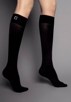 Knee Highs Veneziana FIBBIA STRASS 60